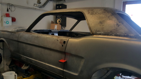 Restauration Ford Mustang